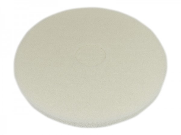 Bohnerpad 406mm weiß Superpad (Politur)