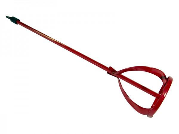 Universalmischer/Farbrührer rot 40 cm/80mm 5-10kg