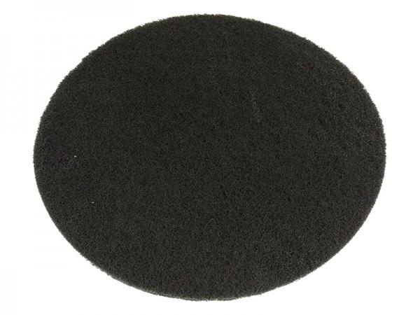 Bohnerpad 406mm schwarz dünn (Reinigung)