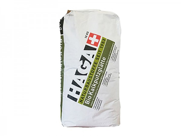 HAGA Bio Kalkputzglätte 18,0 kg Sack