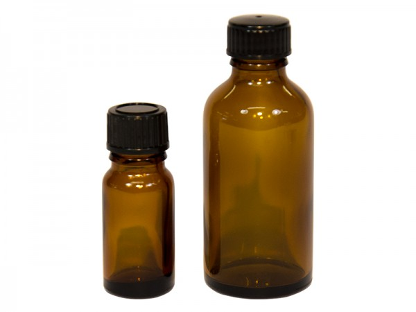 Flasche Allroundflasche Glas 10ml (braun)