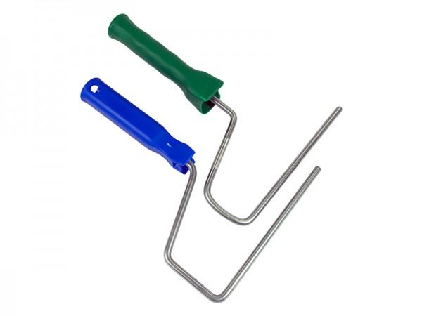 Bügel für Farbroller 18cm roter, grüner oder blauer Stiel