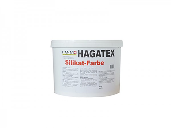 HAGATEX Silikat Mineralfarbe für innen weiß