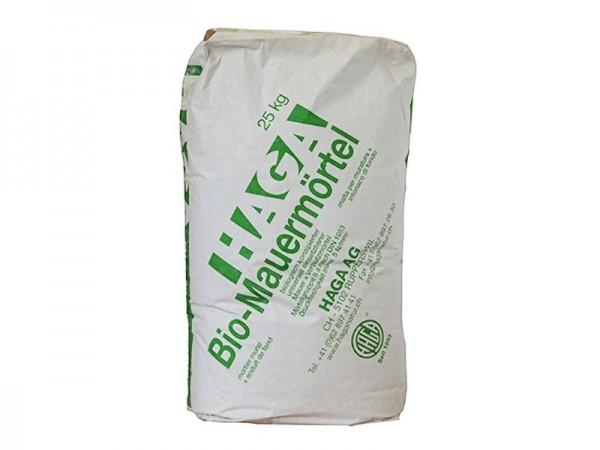 HAGA Bio Mauermörtel 25,0 kg Sack