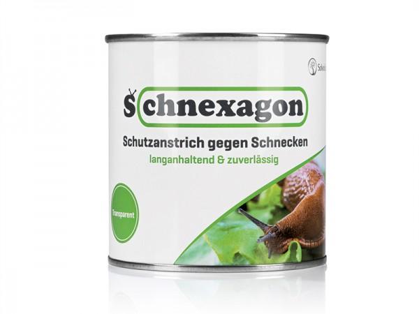 Schnexagon 0,375l Solvoluta bedruckt