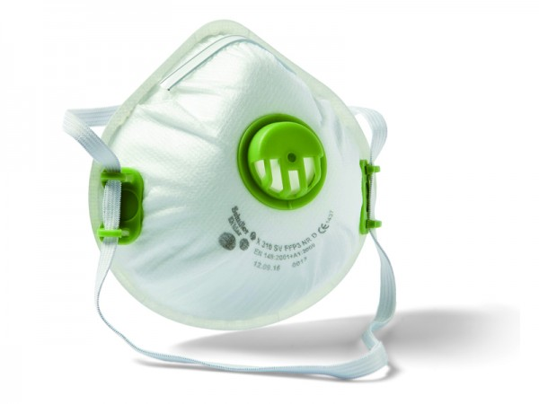 Feinstaubmaske FFP3 Ventil