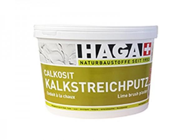 HAGA Calcosit Kalkstreichputz auf Sumpfkalkbasis, weiß