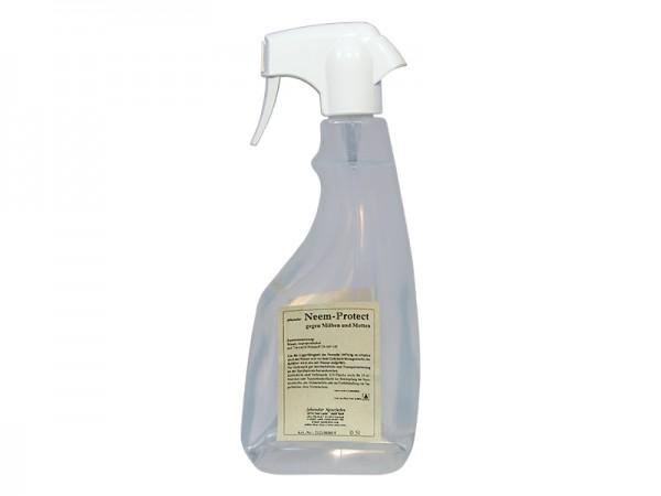 Neem-Protect gegen Milben und Motten 500 ml mit 300ml gefüllt