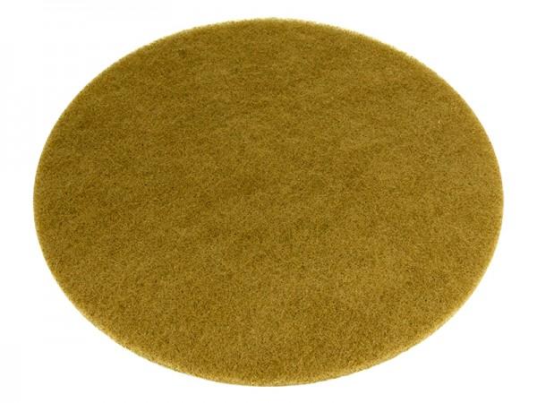 Bohnerpad 406mm gelb-beige dünn (universal)