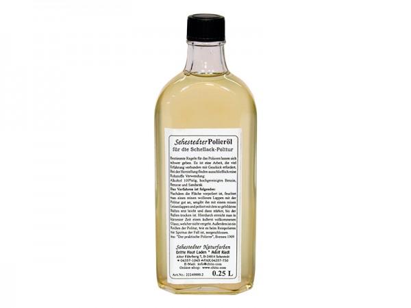 Polieröl 250ml für Schellackpolitur